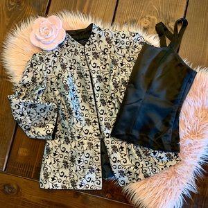 Blazer & Camisole Set